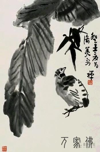 刘禹锡因多次遭贬成为佛教徒并创作《佛衣铭》