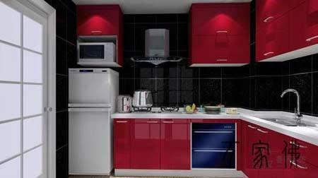 厨房风水橱柜色彩风水禁忌